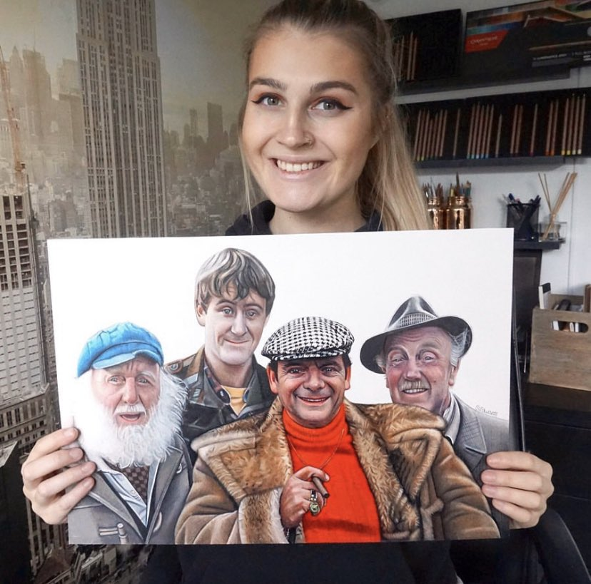 Drawing I did of Only Fools and Horses. Please share 😊