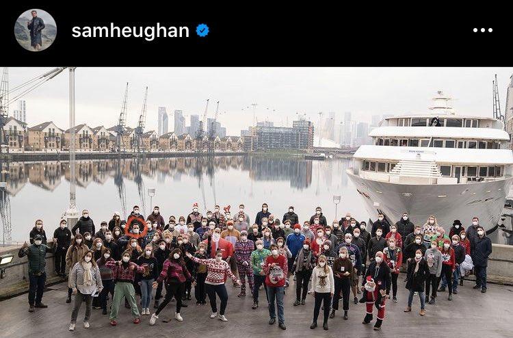 I think I found you @SamHeughan  🧐☺️  #TextForYouMovie will be wonderful 😍