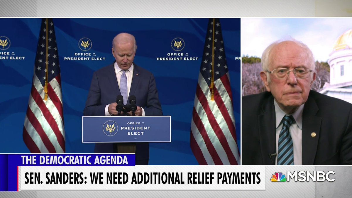 "Republicans don't mention deficit problems ""when it comes to tax breaks to billionaires,"" Sen Sanders says.  ""But when it comes to helping people who are struggling to feed their families or to prevent being evicted from their homes, 'oh my God, we have this terrible deficit'"""