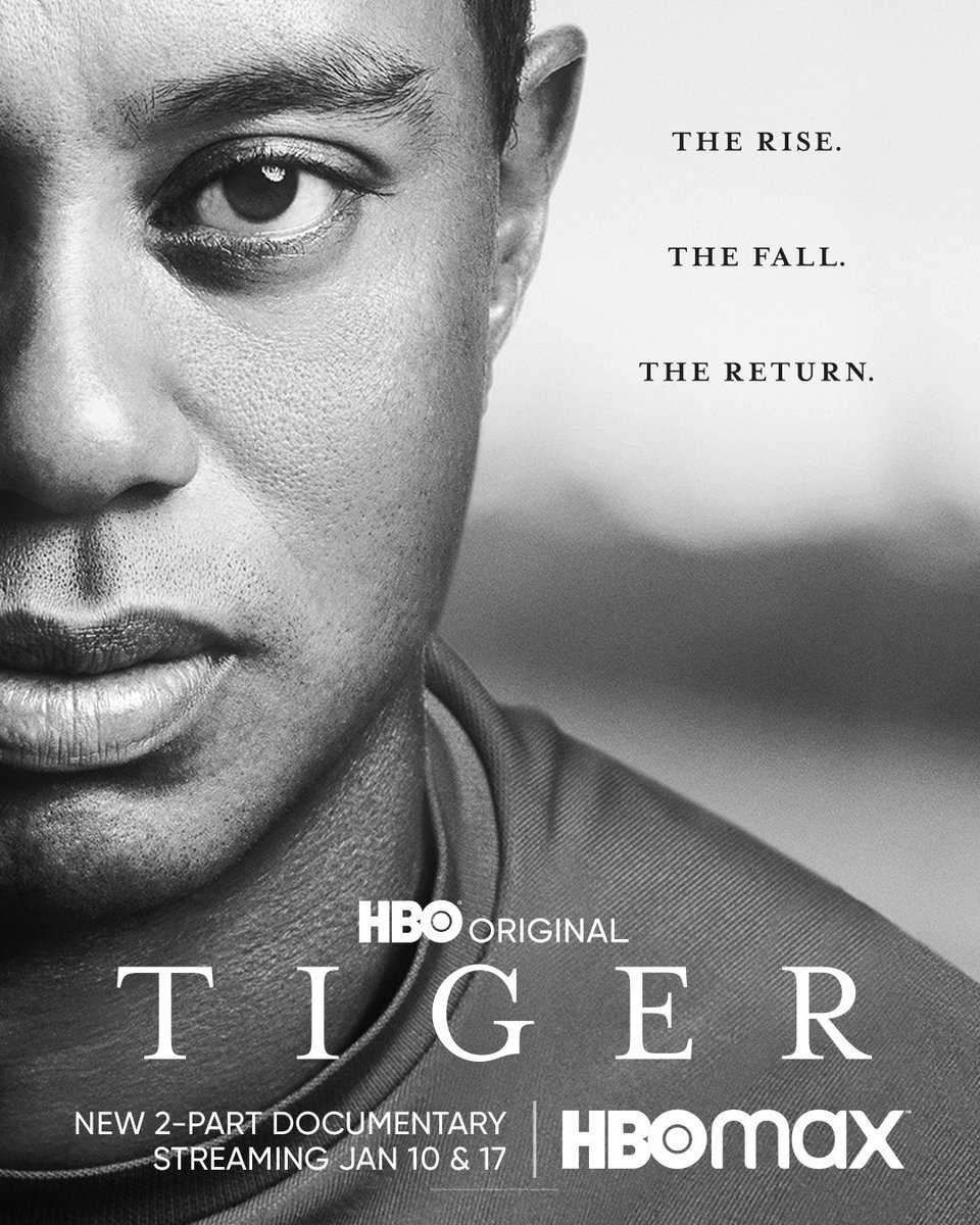 TIGER, a two-part documentary about @tigerwoods that I directed with @hamachek, debuts TONIGHT at 9pm on @hbo!   Trailer:   #TigerHBO #TigerWoods #Golf