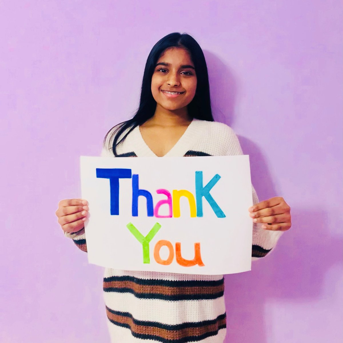Thank you to everyone that treated it forward through Milk & Cookies Month in support of SickKids! You made December even sweeter for kids like Hanvitha. 💙 A very special thank you to all of our participating partners! 🥛🍪