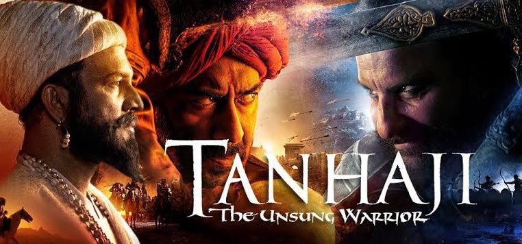 #Tanhaji became the top most rated films of the year, at a survey report by Book My Show. A report from #Google Trends stated that the film is the third most searched films of Google in 2020.  #1YearOfTanhaji #AjayDevgn #SaifAliKhan @ajaydevgn @itsKajolD #Kajol @TSeries