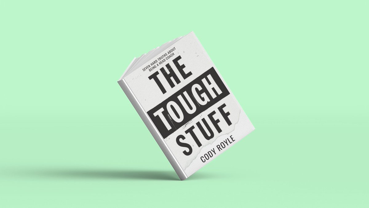 The Tough Stuff, the new book written by Cody