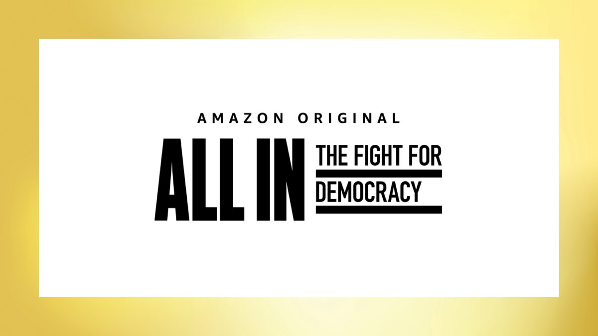 'All In' directors: Stacey Abrams and Georgia only one part of history of voter suppression  MORE:   #DeadlineContenders