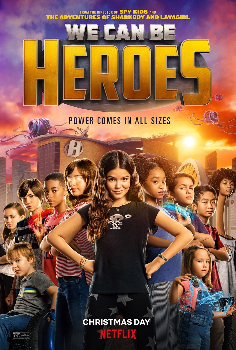 We Can Be Heroes review. @Rodriguez @netflix @priyankachopra @PedroPascal1 @ChristianSlater   #WeCanBeHeroes #Netflix #RobertRodriguez #review #TaylorDooley #YayaGosselin #PedroPascal #PriyankaChopraJonas #BoydHolbrook #ChristianSlater  #AdrianaBarraza
