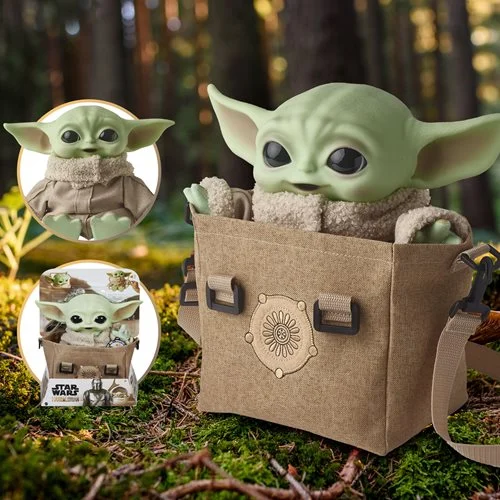 For fans of the Child be sure to grab this awesome and cute plush bundle including the satchel they are carried in ~ Linky ~  #Ad #FPN #FunkoPOPNews #Funko #POP #Grogu #MandoMondays #TheMandalorian #Mandalorian #Mando #TheChild