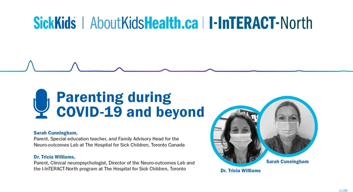 Stressors due to COVID-19 can impact children, parents & families as they adjust to new routines. Experts from @AboutKidsHealth share info on how to support kids during a time of stress: