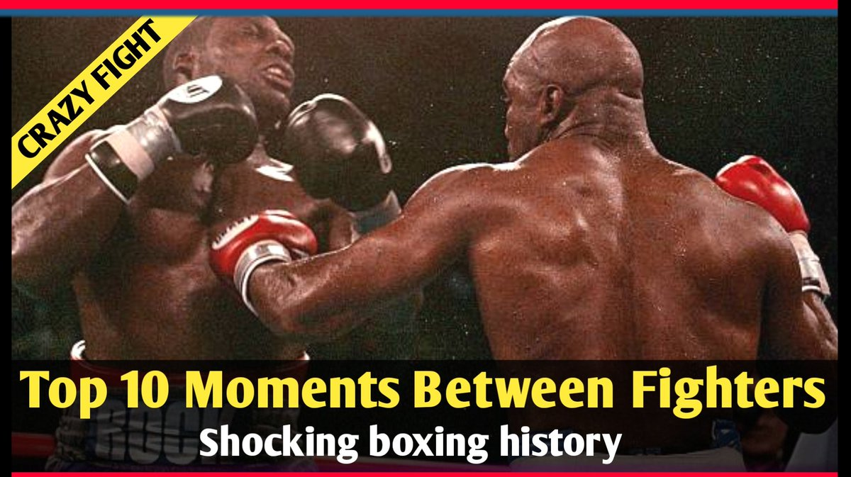Top 10 Most Shocking Moments Between Fighters! Video Link :   #boxing #Moments #shocking