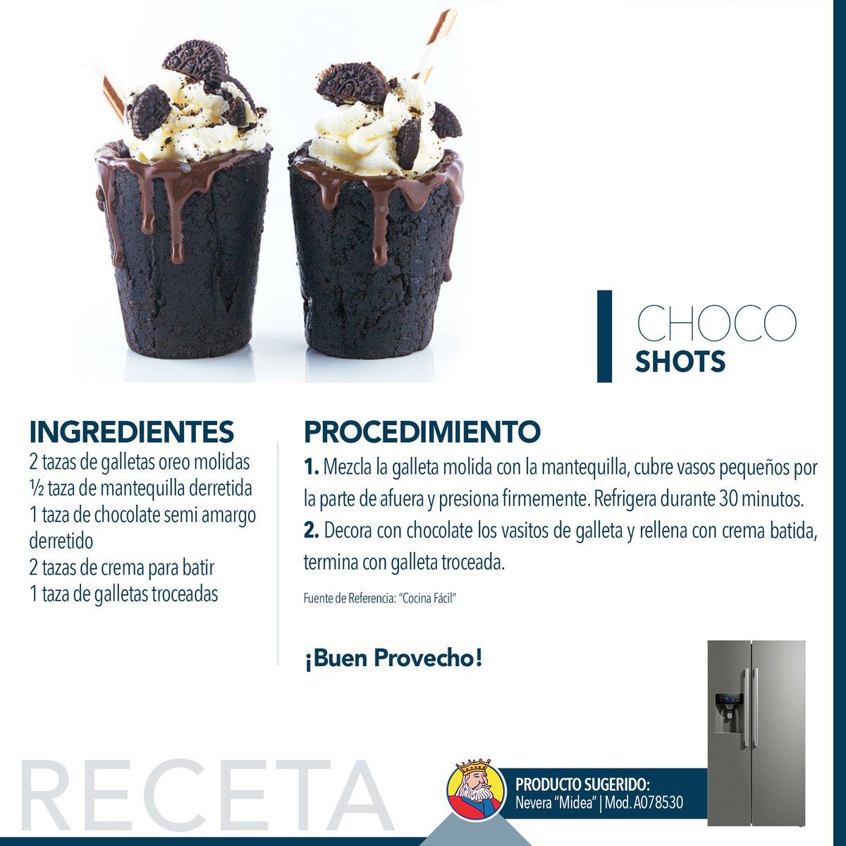 """😋 ¿Quién puede resistirse al 🍫 #Chocolate? Te compartimos esta fácil #Receta 📝de estos """"choco shots"""", perfectos para este fin de semana.  .. ¡Su sabor es increíble! .. #BerríosTeDaMás #TiempoEnFamilia"""