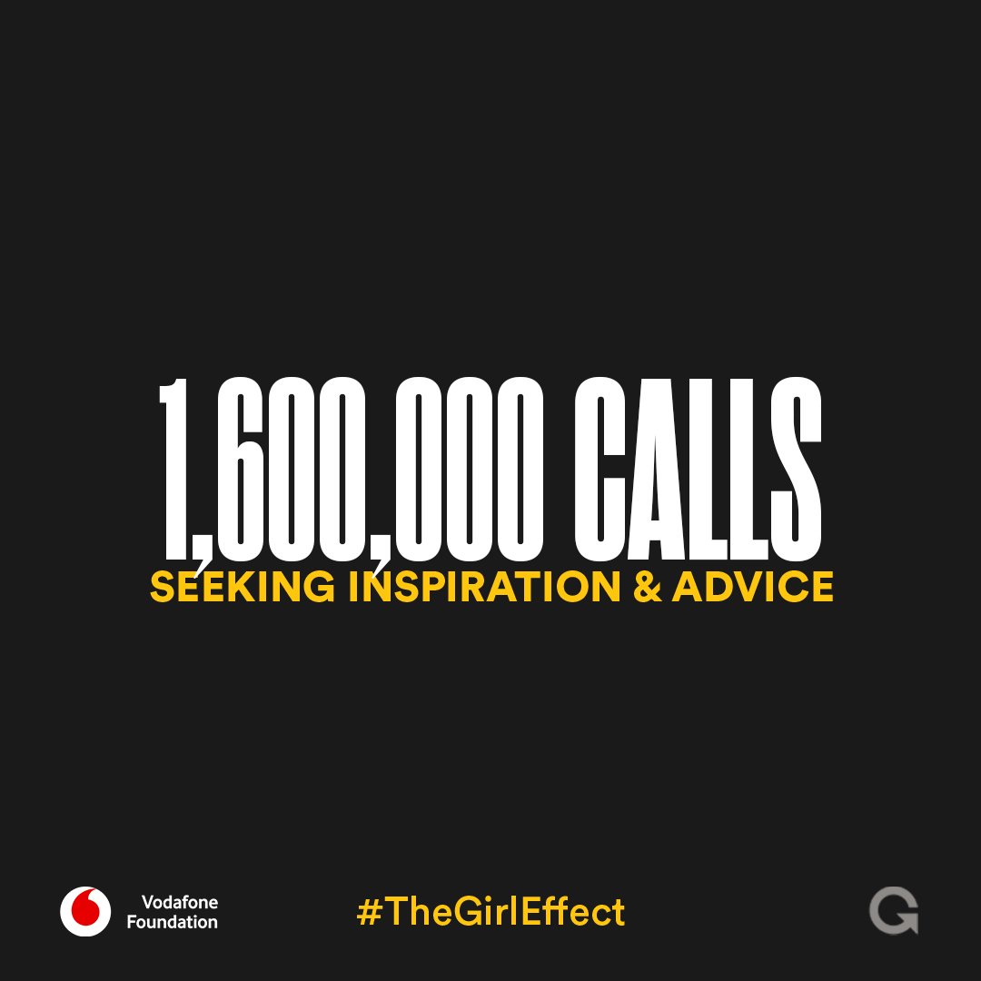 In partnership with @VodacomTanzania & @VodafoneFdn,  our digital-first brand Tujibebe uses tools like the phone line to connect with girls seeking advice. Advice about saving money, starting a business or negotiating with parents.   #TheGirlEffect