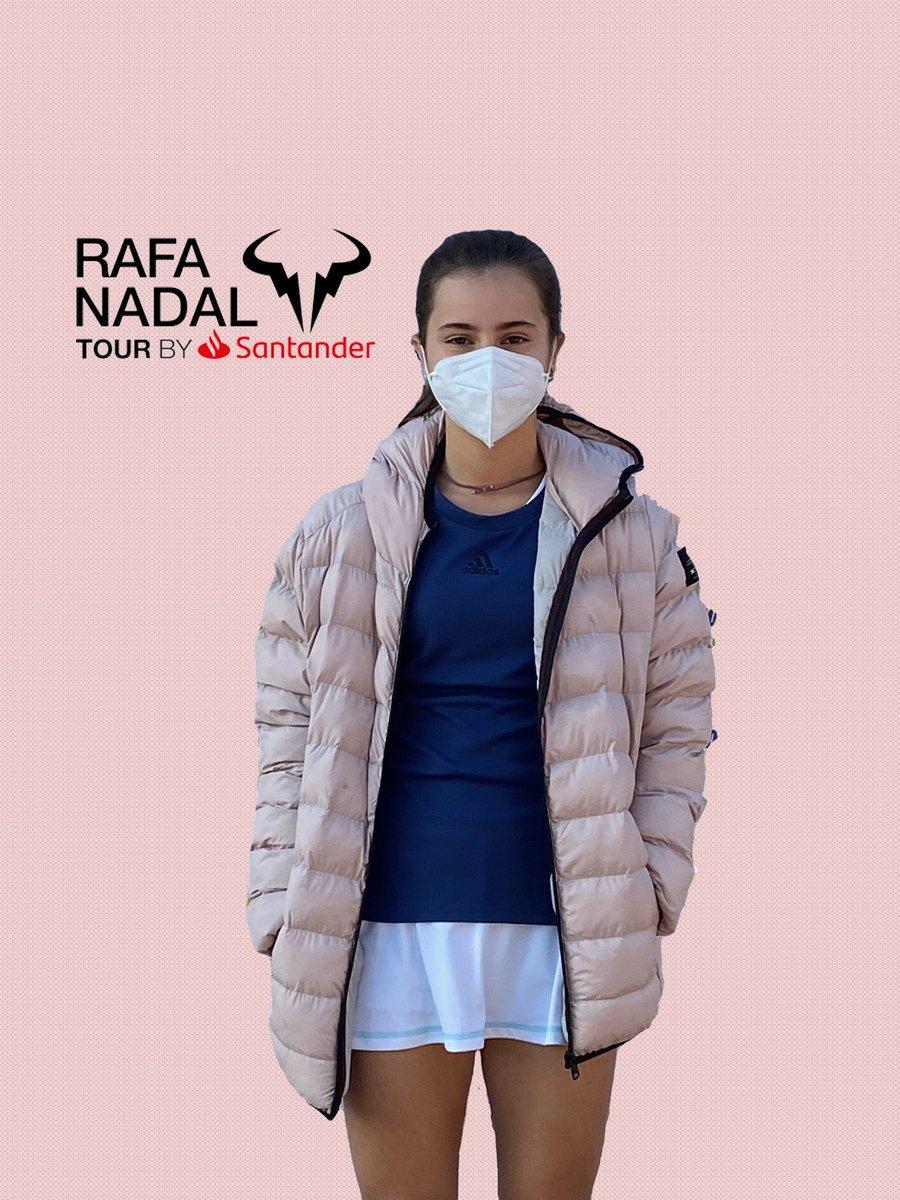 Eugenia Menéndez Zozaya, jugará la final sub14 del trofeo #rafanadaltour que se celebra en el @rctb1899
