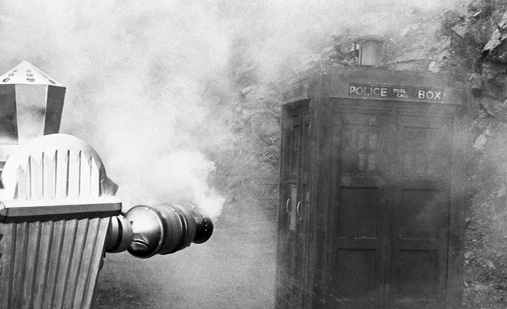 #OnThisDay 1969: #DoctorWho - The Krotons, episode 4. Hearing that the TARDIS is ablaze, the Krotons race to help... #scifi #sciencefiction #cult #ClassicTV #1960s #DrWho