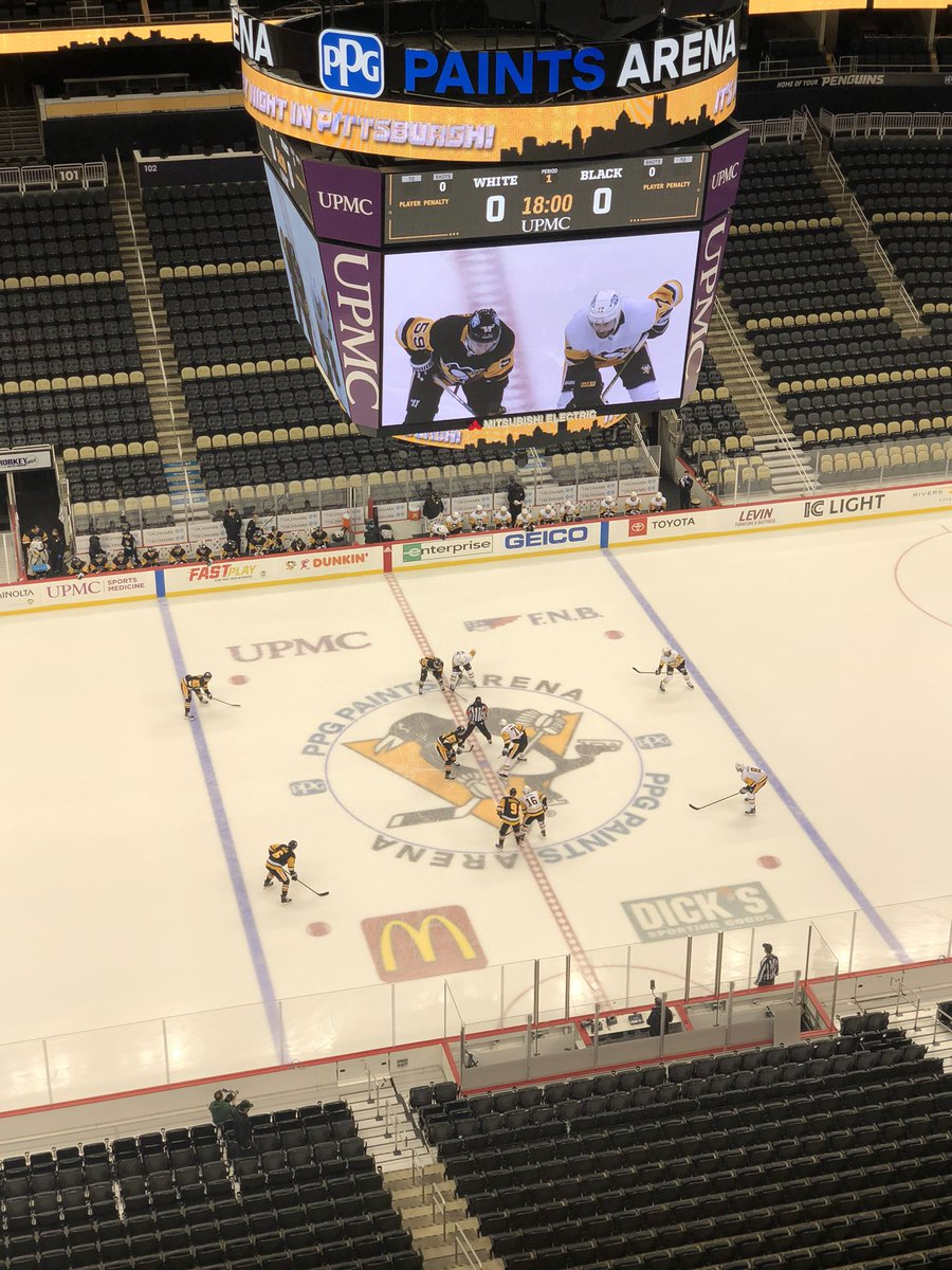 A Hockey Night in Pittsburgh and as close to an exhibition game as we're going to get. Penguins season starts in three days.