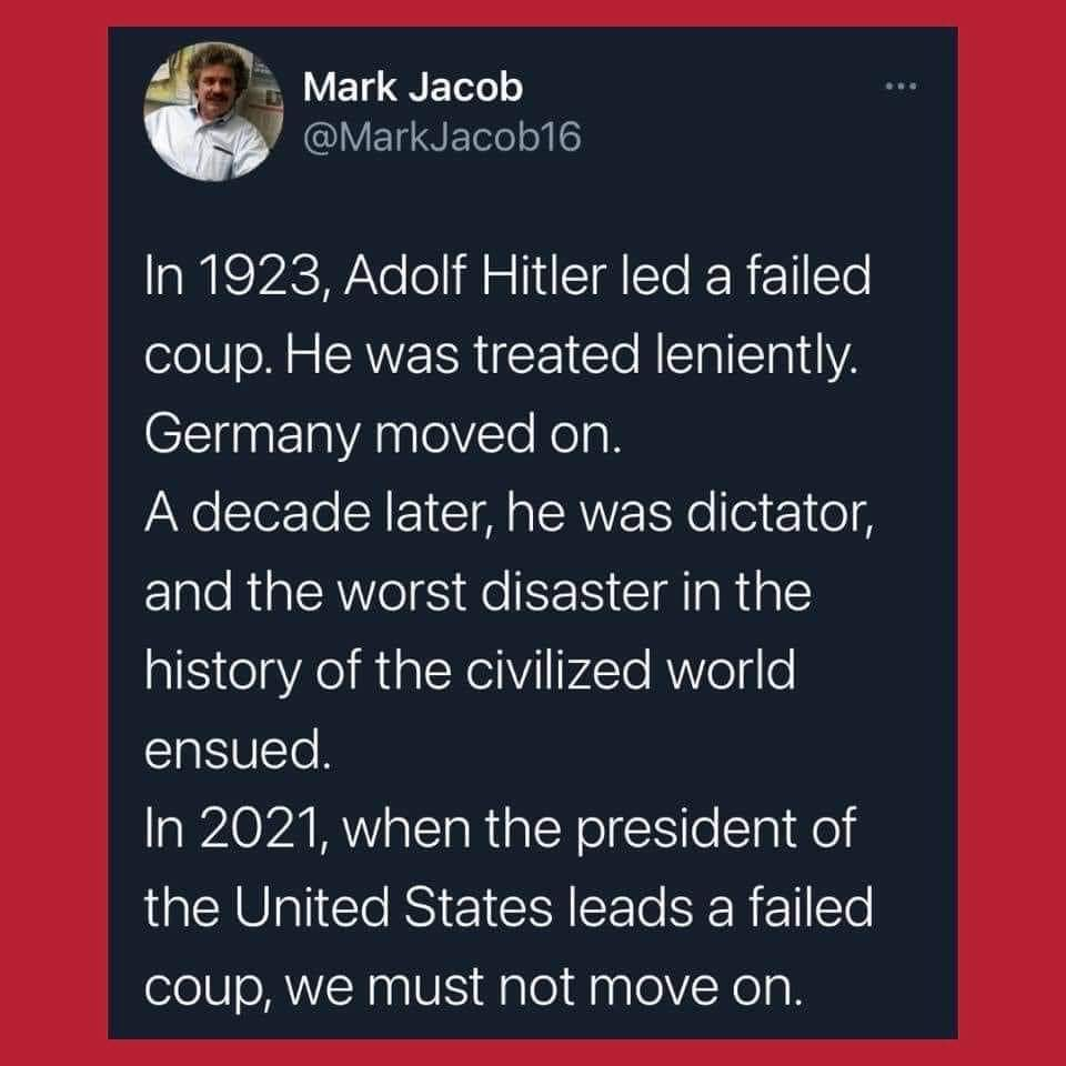 You trump fools have forgotten history