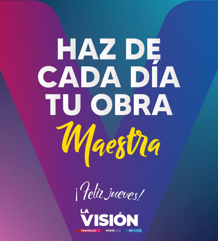 Haz de cada día tu obra maestra, ¡feliz jueves! #SiemprePositivo #FraseDelDia