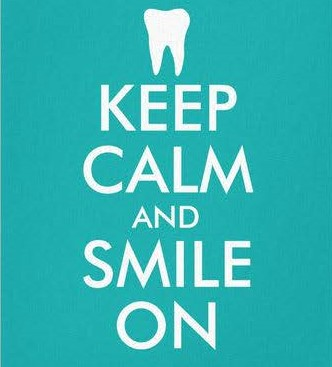 Keep calm and #smile on!  Have a great #weekend!  #cheyenne #dentist