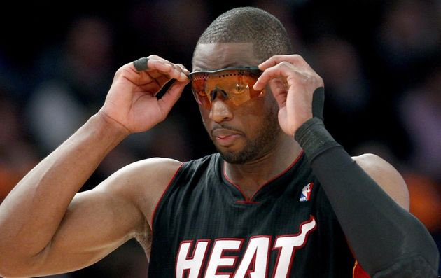 That one time DWade wore goggles due to a migraine and ended up putting up 34 points, 16 rebounds, 5 assists, & 1 steal. Wade shot 14/15 throughout the first 3 quarters. What a crazy game, until the NBA banned the goggles.