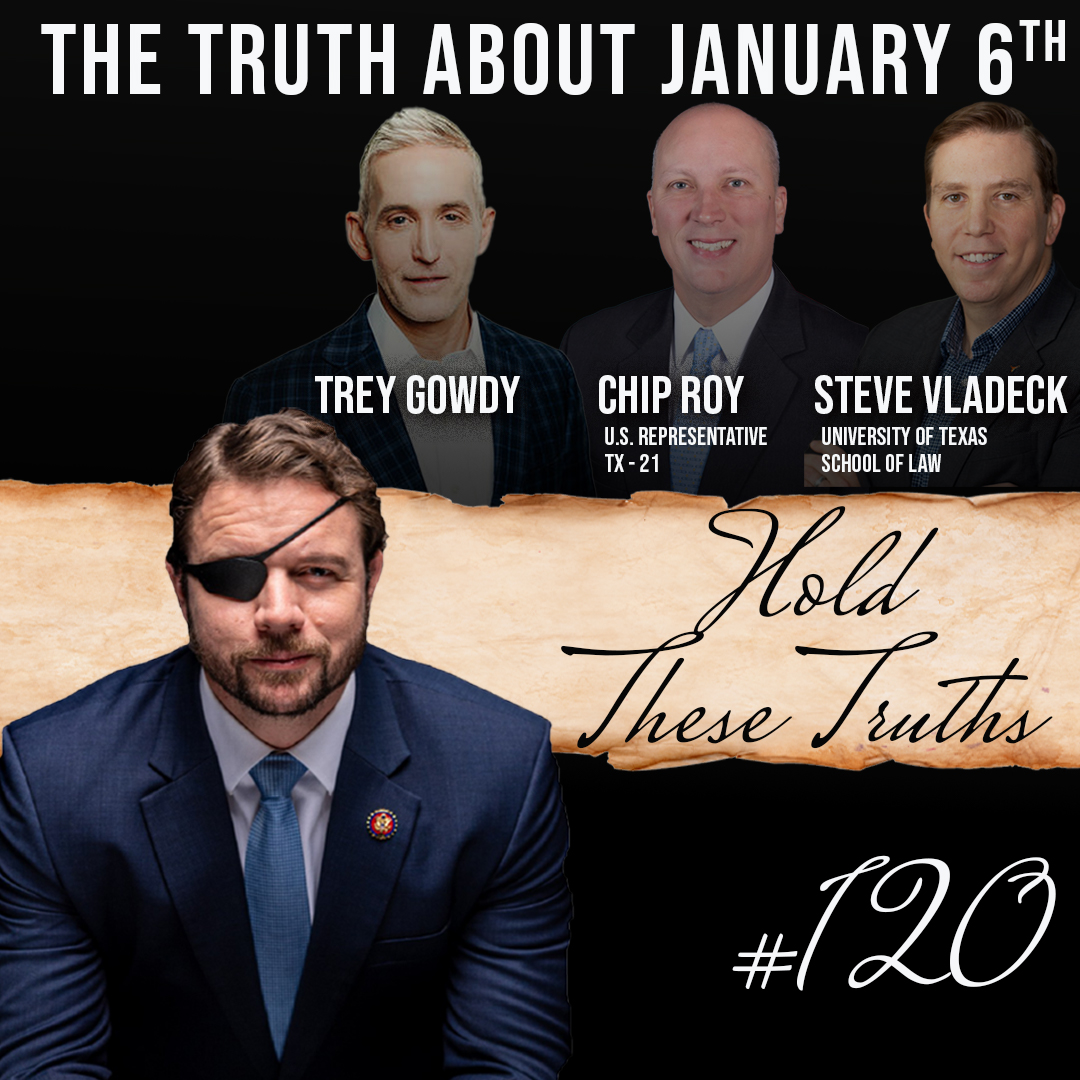 Replying to @DanCrenshawTX: This podcast lays it all out. The inside truth about Jan. 6th.