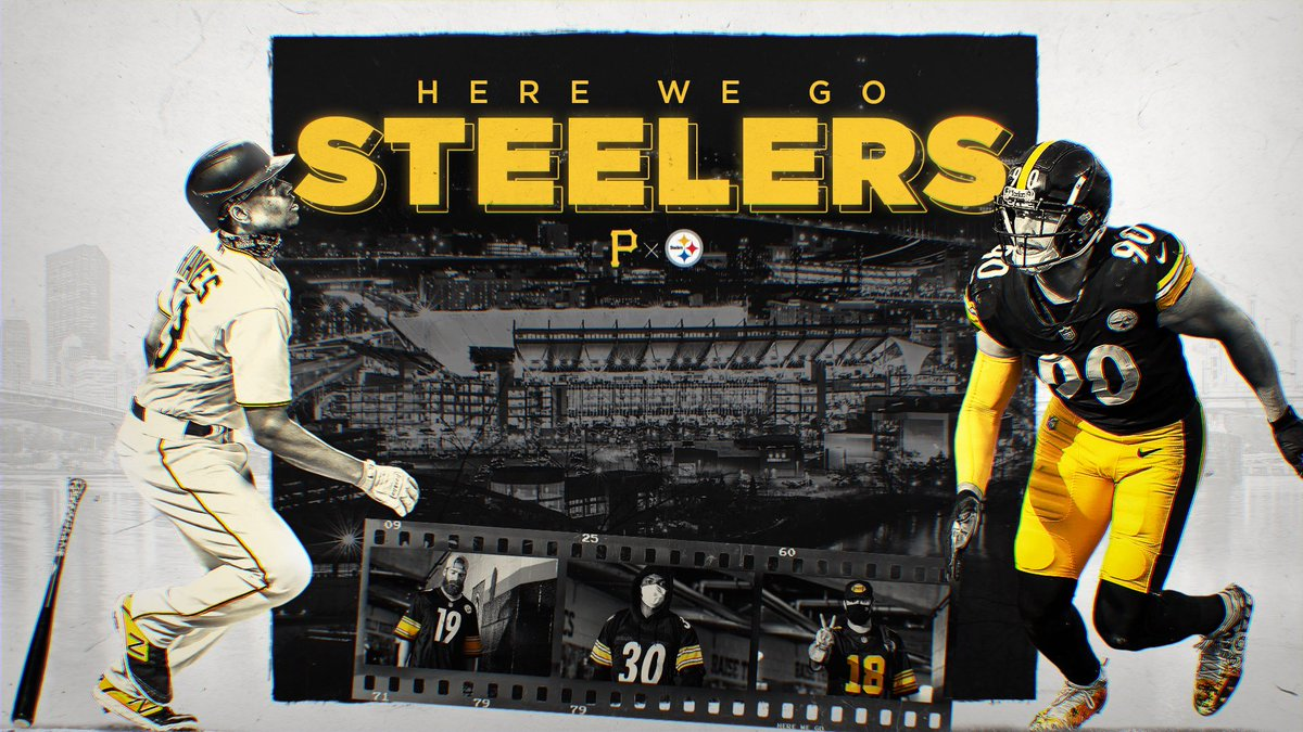 When you play Pittsburgh, you play the whole city.  #HereWeGo