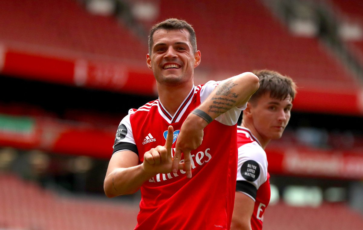 Would you make him captain again?   Granit Xhaka...