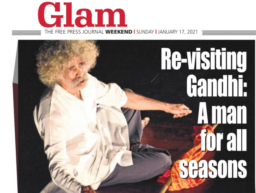 #Gandhi... and all-time favorite. Alpana Chowdhury talks about how Gandhi's life has always been relevant even in recent times.  #ClientDiaries #PublicRelations #PR #coverage #motley #theatre #talkingtheatre #mahatmagandhi #freepressjournal #fpjentertainment