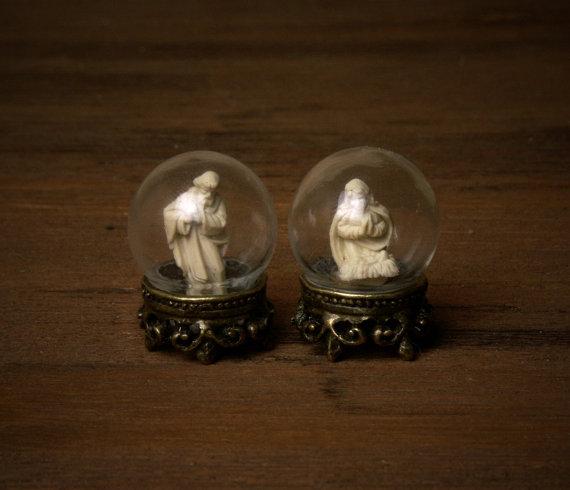 """Miniature Glass Ball """"Joseph"""" for Your Dollhouse by DinkyWorld -   #Christmas #christmas"""