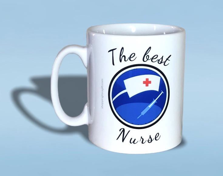 The Best Nurse Mug. Mugs for #Nurses for Birthday, #Christmas. Nurses Gift Ideas. Work, Job Themed Mugs: Visit >>    #Amazon #AmazonUK @amazon @AmazonUK