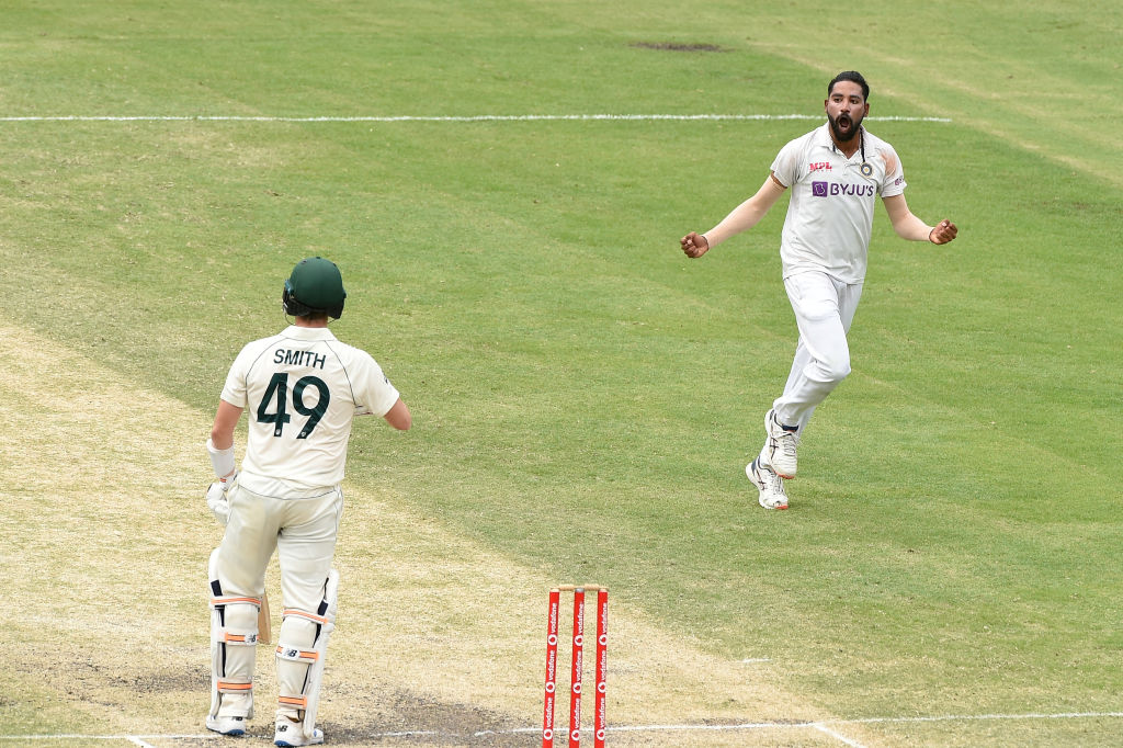 The boy has become a man on this tour. Siraj,  Leader of the attack in his first Test series and he has led from.the front. The way newcomers have performed for India on this tour will be etched in memories for a long long time. Will be fitting if they retain the trophy.