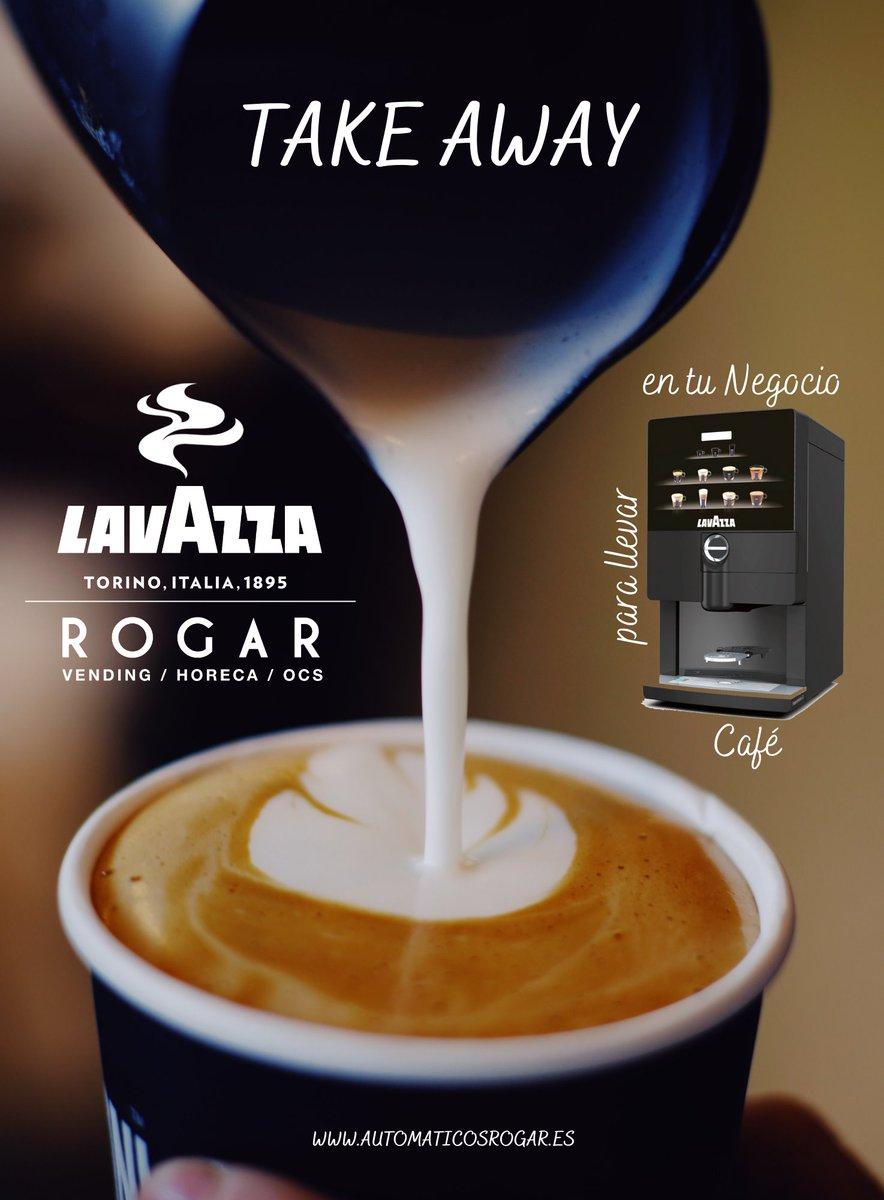 ¡Café #Lavazza para llevar en tu Negocio! El Café de la alta #gastronomía llega al #TakeAway!