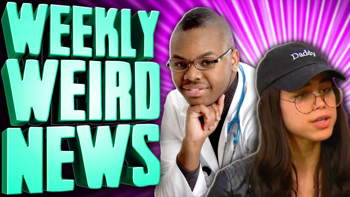 who's still awake and wants to watch the longest episode of Weekly Weird News we've ever recorded?