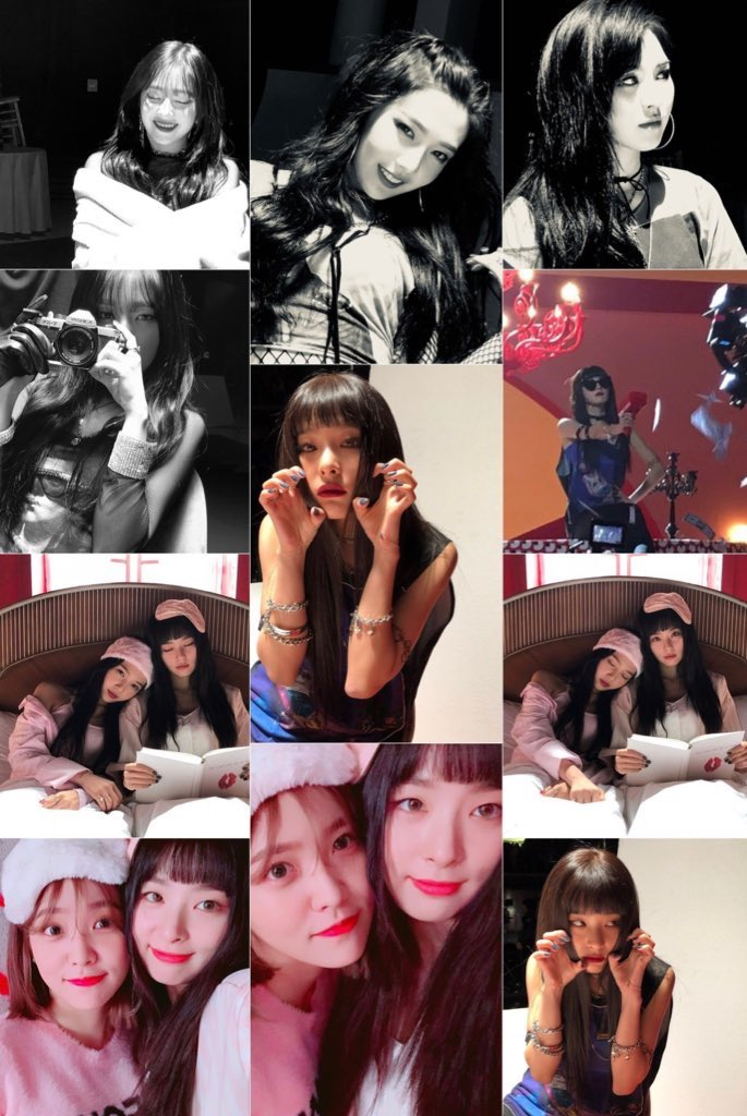 oh to have this kind of content everyday 🥺 Thanks for the pics Seulgi Joy and Yeri!!