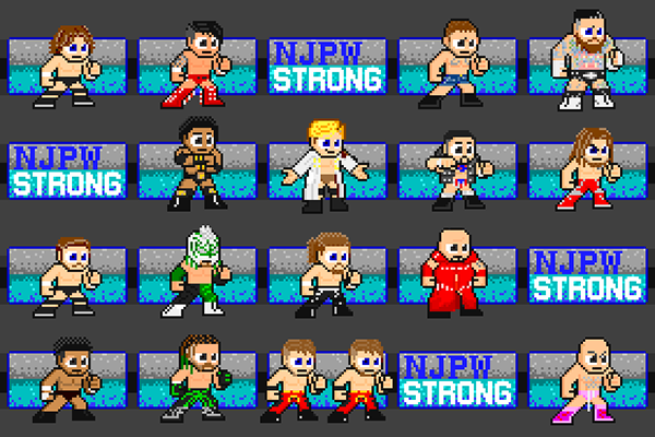 The latest column from @DaizonNonaka is here!  In this edition, the videogame producer and pixel artist casts an eye at #njpwSTRONG!   Get his perspective on the cast of characters appearing every Friday night!    #njpw