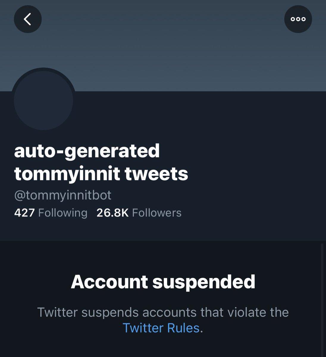 MY MAN DID NOTHING WRONG #freetommybot