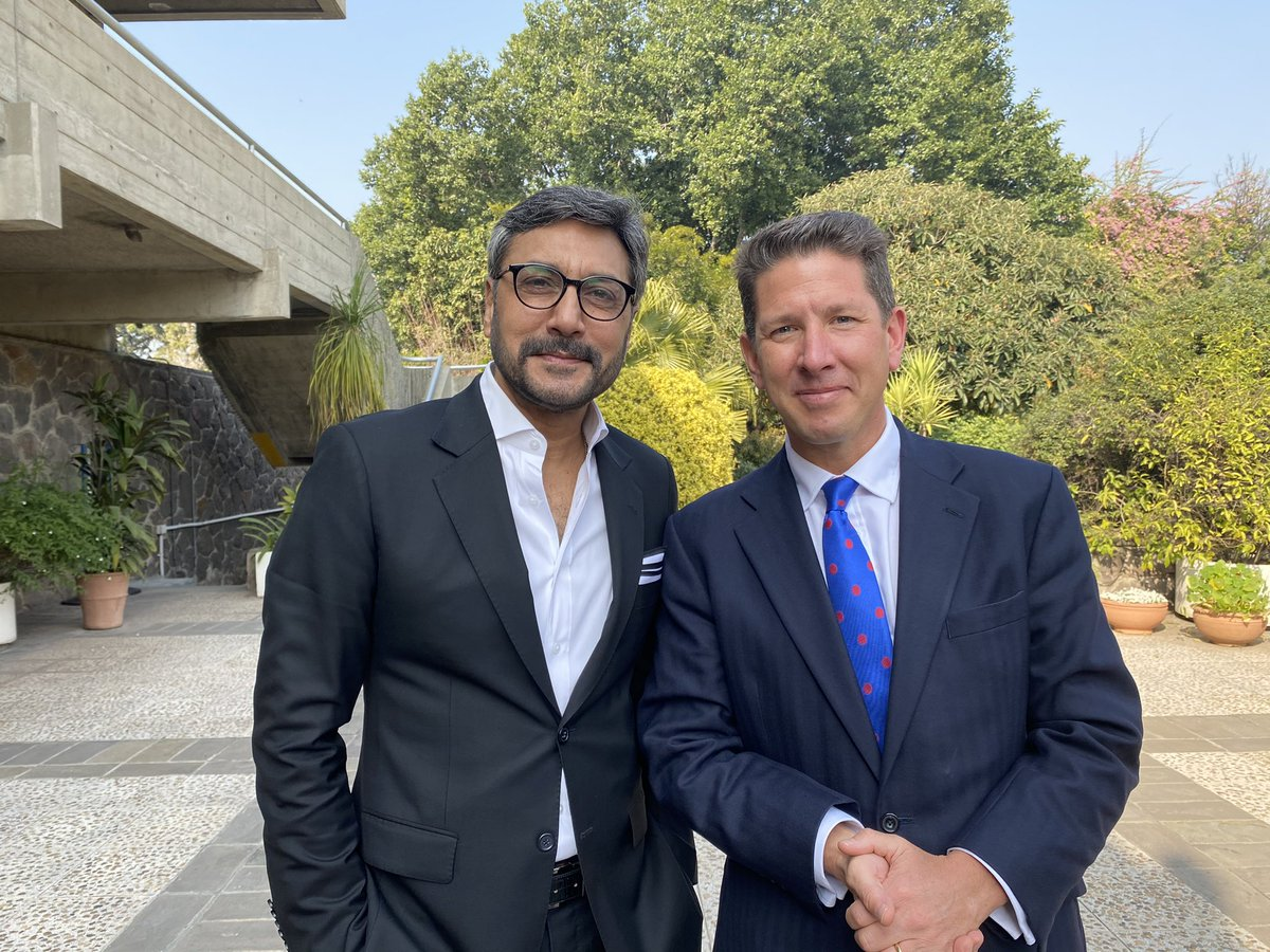 Thank you Your Excellency Dr. Christian Turner, British High Commissioner to Pakistan, for meeting me today. Your love and support for Pakistan is commendable. 🇵🇰 🇬🇧  #UKPakFriendship #earliertoday #islamabad