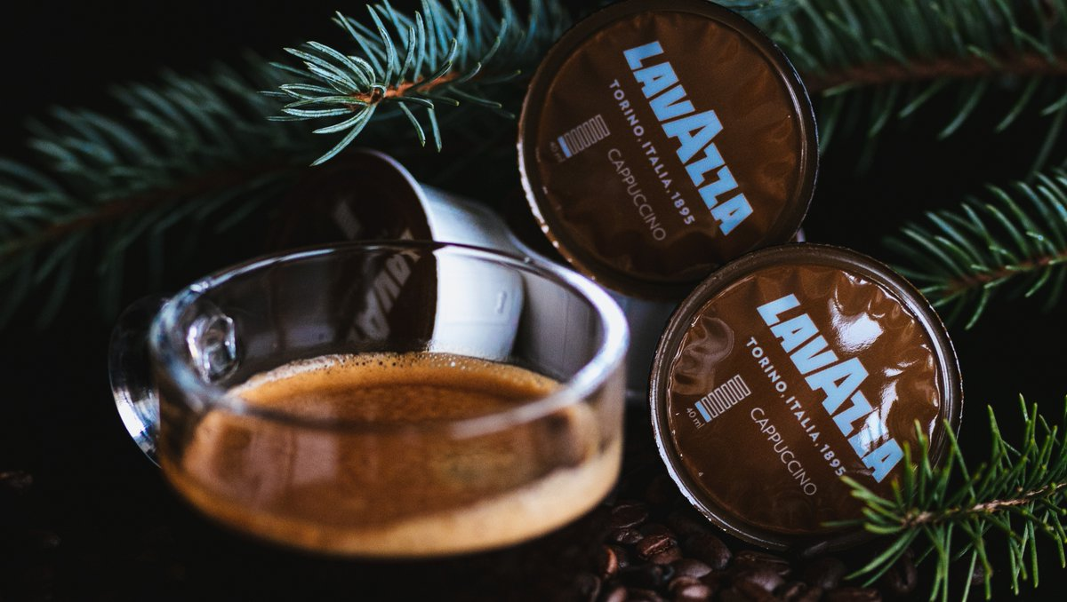 Have a great start of the week with great coffee from Lavazza. #lavazza #espresso #buycoffeeinlagos #dolcegustoinlagos