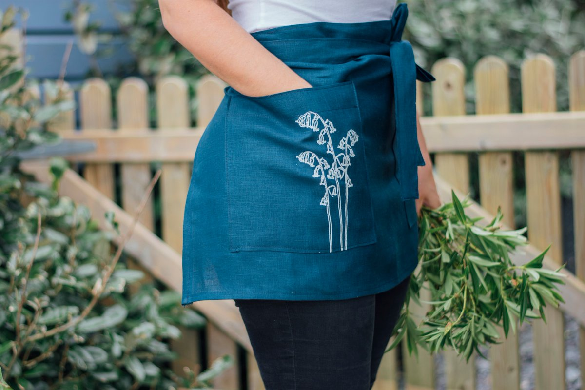 BLUE MONDAY • The 18th of January is claimed to be the most depressing day of the year.😒   However, we believe that Mondays are for fresh starts... so let today be the start of something new!  Link in bio  #buyhandmade #buylocal #makers #gardening #helenround #linenapron