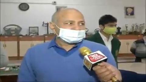दिल्ली के शिक्षा मंत्री मनीष सिसोदिया ने किया स्कूलों का दौरा। देखिए, मनीष सिसोदिया से #Exclusive बातचीत। #ReporterDiary | @MSisodia @PankajJainClick  अन्य वीडियो