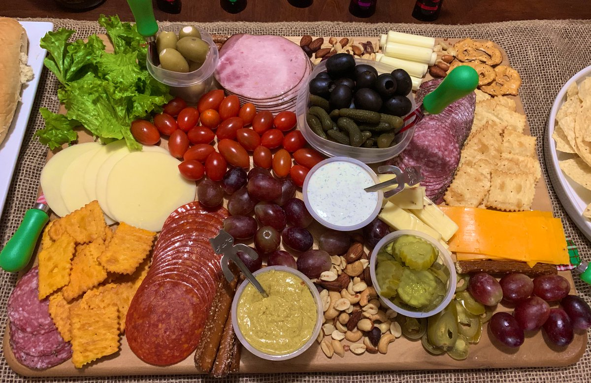 #charcuterieboard Did this one for #NewYearsEve 😉