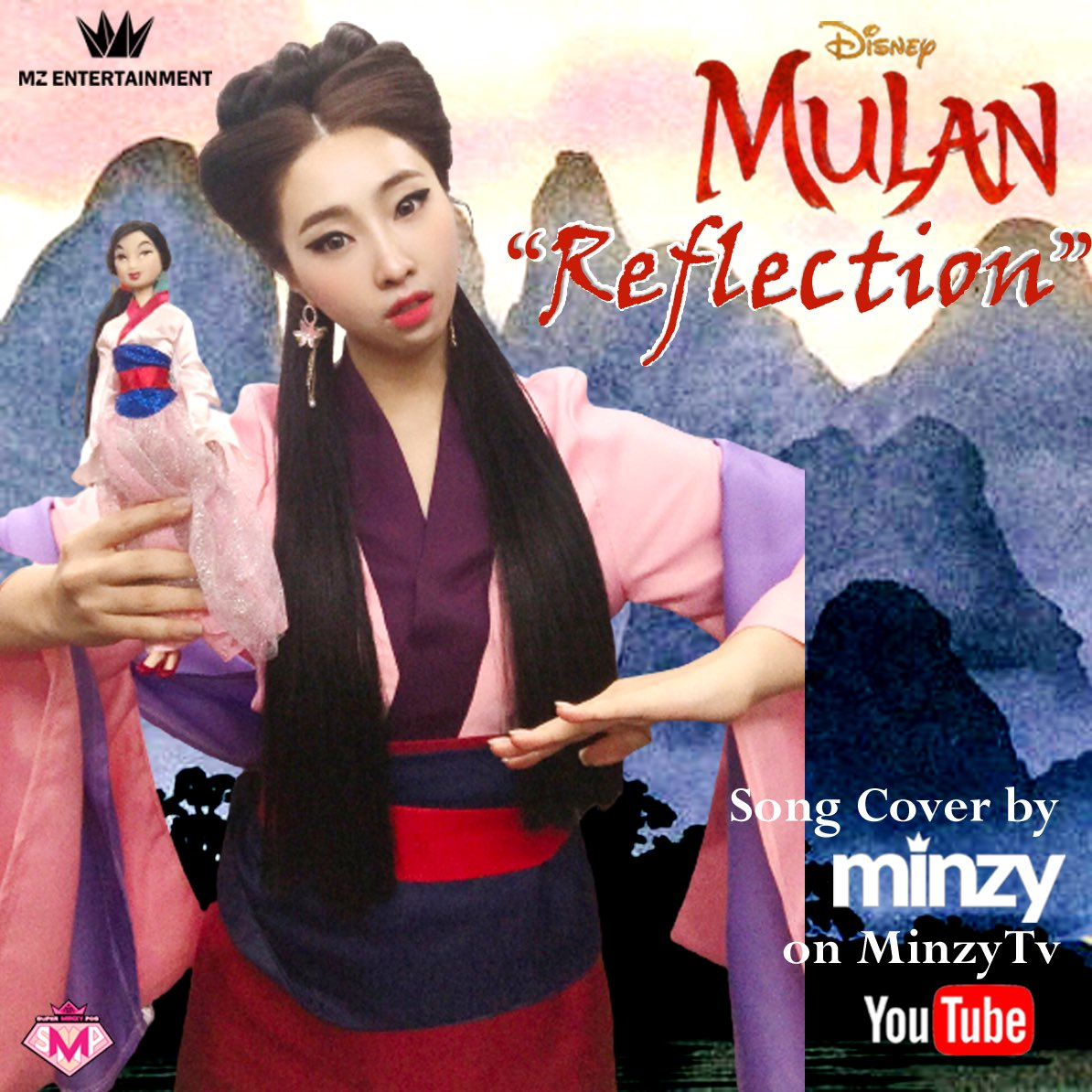 "Minzy ""Reflection"" Song Cover Disney Mulan soundtrack! Out Now!!   Watch the full video at Minzy Tv Youtube Channel   @mingkki21 #minzy #mulanzy #disney #songcover #mulan #2ne1"