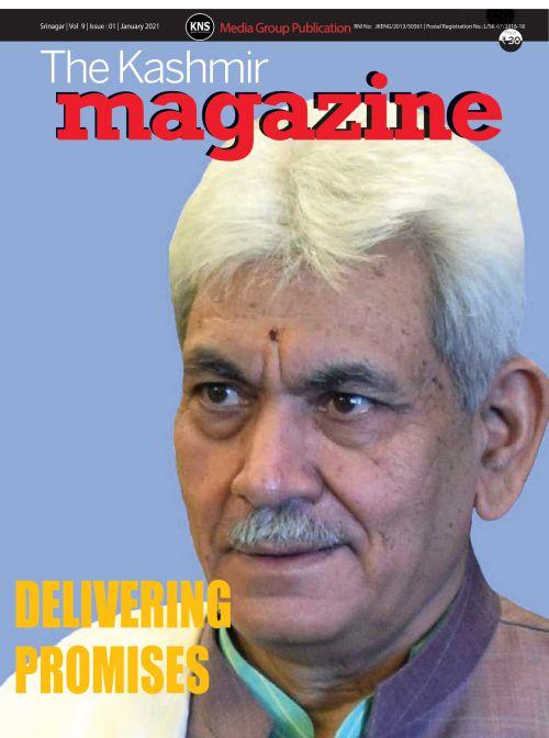 #KNS Monthly Magazine, The Kashmir Magazine👇*  @manojsinha_ @OfficeOfLGJandK @diprjk , @kansalrohit69 @DrSyedSehrish @KNSKashmir