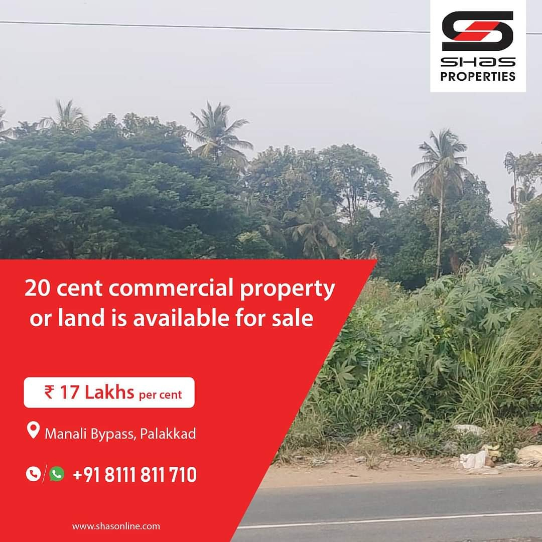 Commercial plot for sale in Manali Bypass, Palakkad  For Enquiry Call/WhatsApp: 81118 11710 Visit:   #koottupadha #palakkad #houseforsale #realestate #realtor #realestateagent #home #property #forsale #realtorlife #investment #house #shasproperties