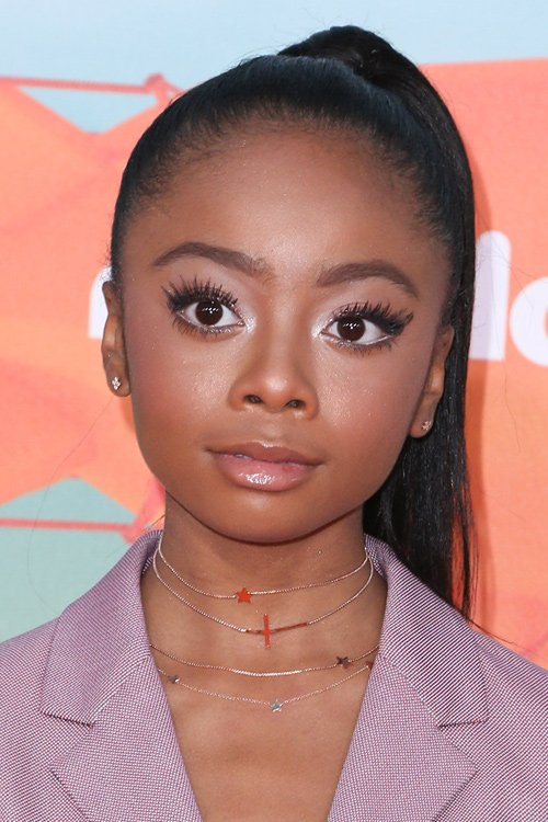 Skai Jackson at the Nickelodeon's 2016 Kids' Choice Awards at The Forum. Photo edited by Airbrush App. More tips about how to edit photo like this:  #SkaiJackson #beautiful #photooftheday