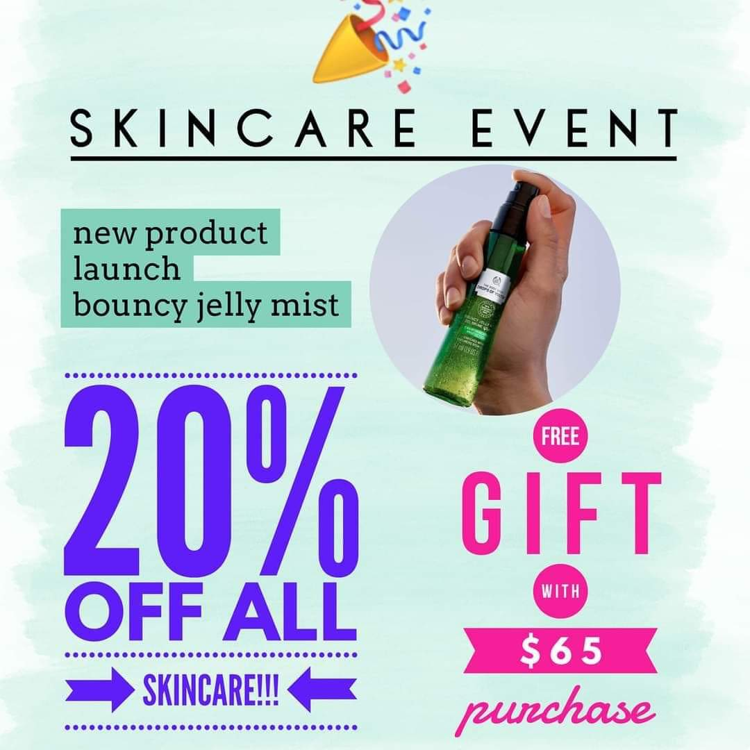 @MrBeastYT The Body Shop has the BEST #CrueltyFree skin care products and you can get it for 20% off right now! All people have skin that needs to be pampered! Need advice? I'm a skin care #specialist! Ask me!  #SkinCare #SelfCare #SpaDay #TBSAH #JoinMe #ThankYouBeast