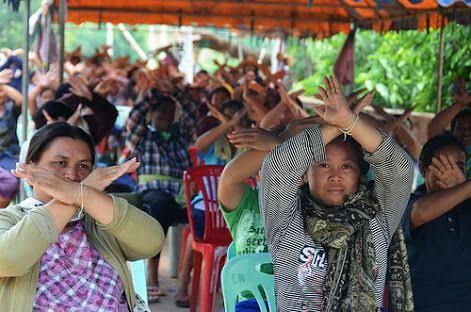 May your memories be as #beautiful as your #dream #เหมืองแร่เมืองเลย #WhatHappeningInThailand #เคียงข้างนักปกป้องสิทธิมนุษยชน #เคียงข้างนักปกป้องสิทธิ #ThailandProtest2020 #goldmining #HumanRights #ปิดเหมืองถาวร #ฟื้นฟูภูเขาคืนมา