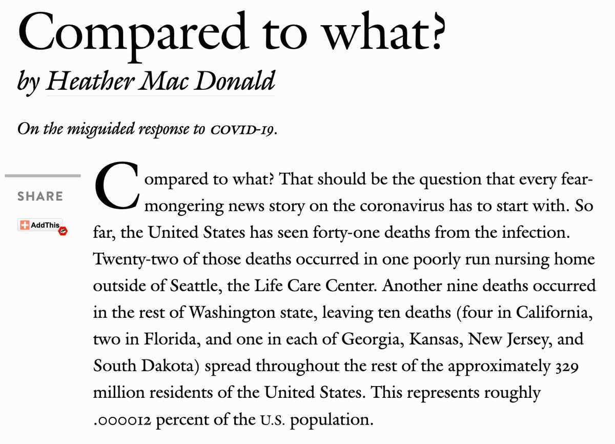 Remembering that @HMDatMI Heather Mac Donald's worst case scenario last March was 41,000 deaths in a year https://t.co/DcZQRjOnWo https://t.co/fIKeVrRPyc https://t.co/rFyJDQcXPT