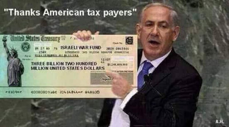 Tens of Billions of american tax and fine Dollars each year, provide amply for #Israelites comfort.