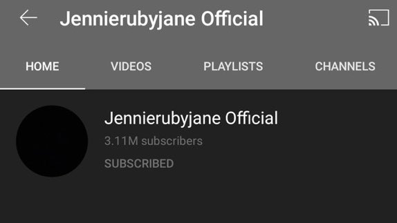 Replying to @_bpfuls: 3m subscribers in less than 48hrs!!! jennie did that!  @BLACKPINK #JENNIE