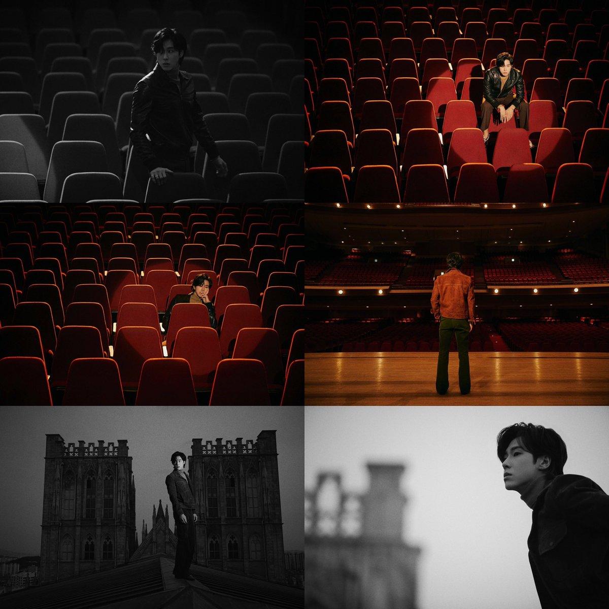 U-KNOW wanders an empty theater 'NOIR' Concept Images  #U_KNOW #유노윤호 #동방신기 #TVXQ  #東方神起 #NOIR