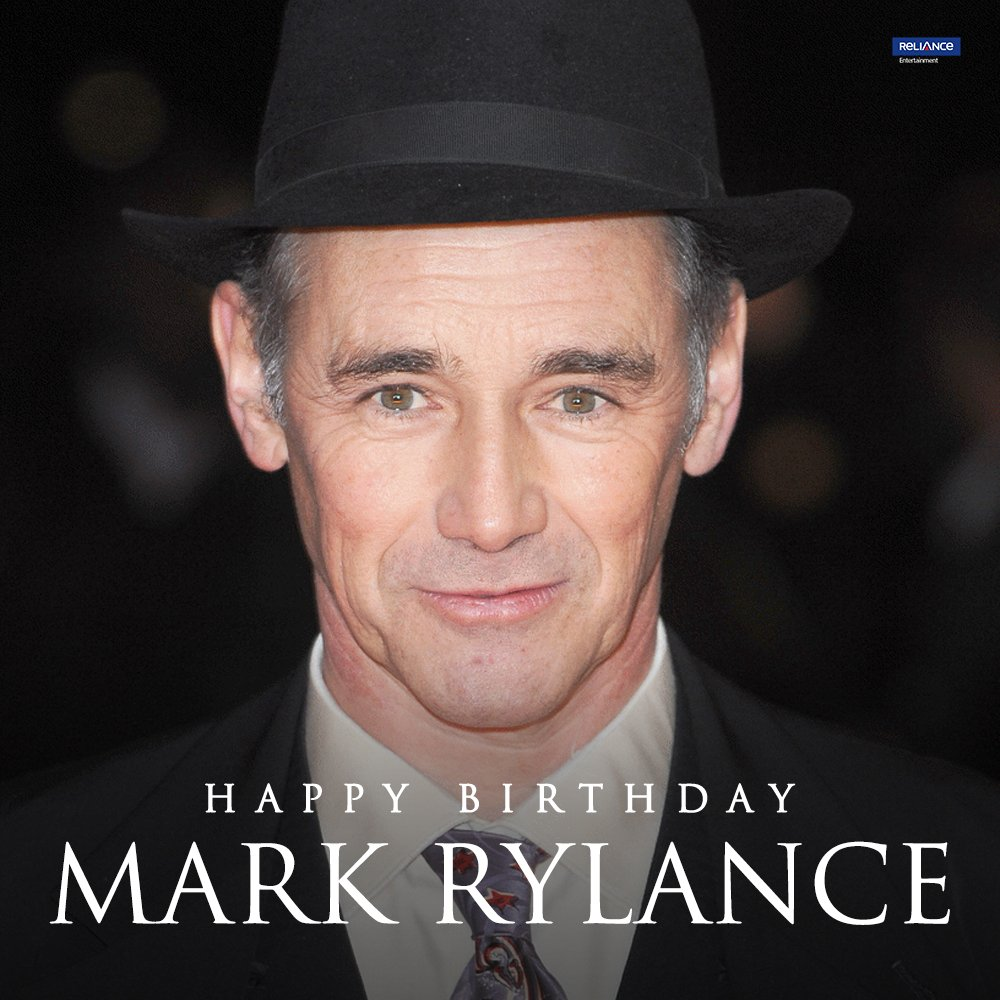The Academy Award-winning Actor with an array of top-notch performances. Here's wishing #MarkRylance a very happy birthday.   #HappyBirthdayMarkRylance #BridgeOfSpies #TheBFG