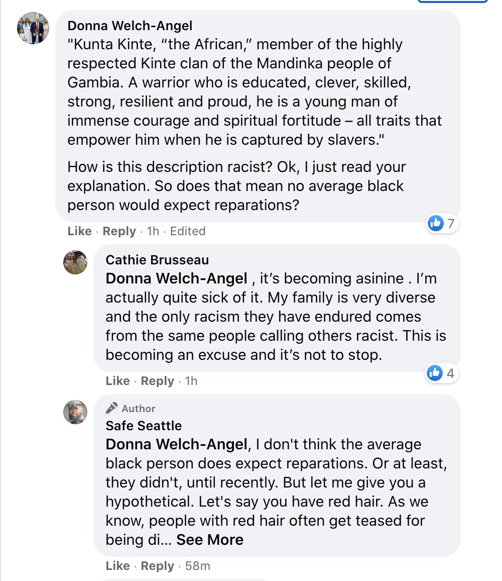 A Seattle Police officer was recently fired after referring to a black person as Kunta Kinte. The local hate group is taking it pretty hard. These people are truly incredible. The Cardi B lyrics really push it over the top.